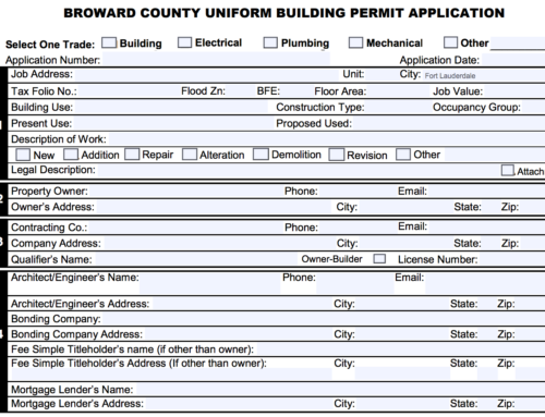 Building a Home Office Addition and Other Broward County Building Permit Tips for Homeowners