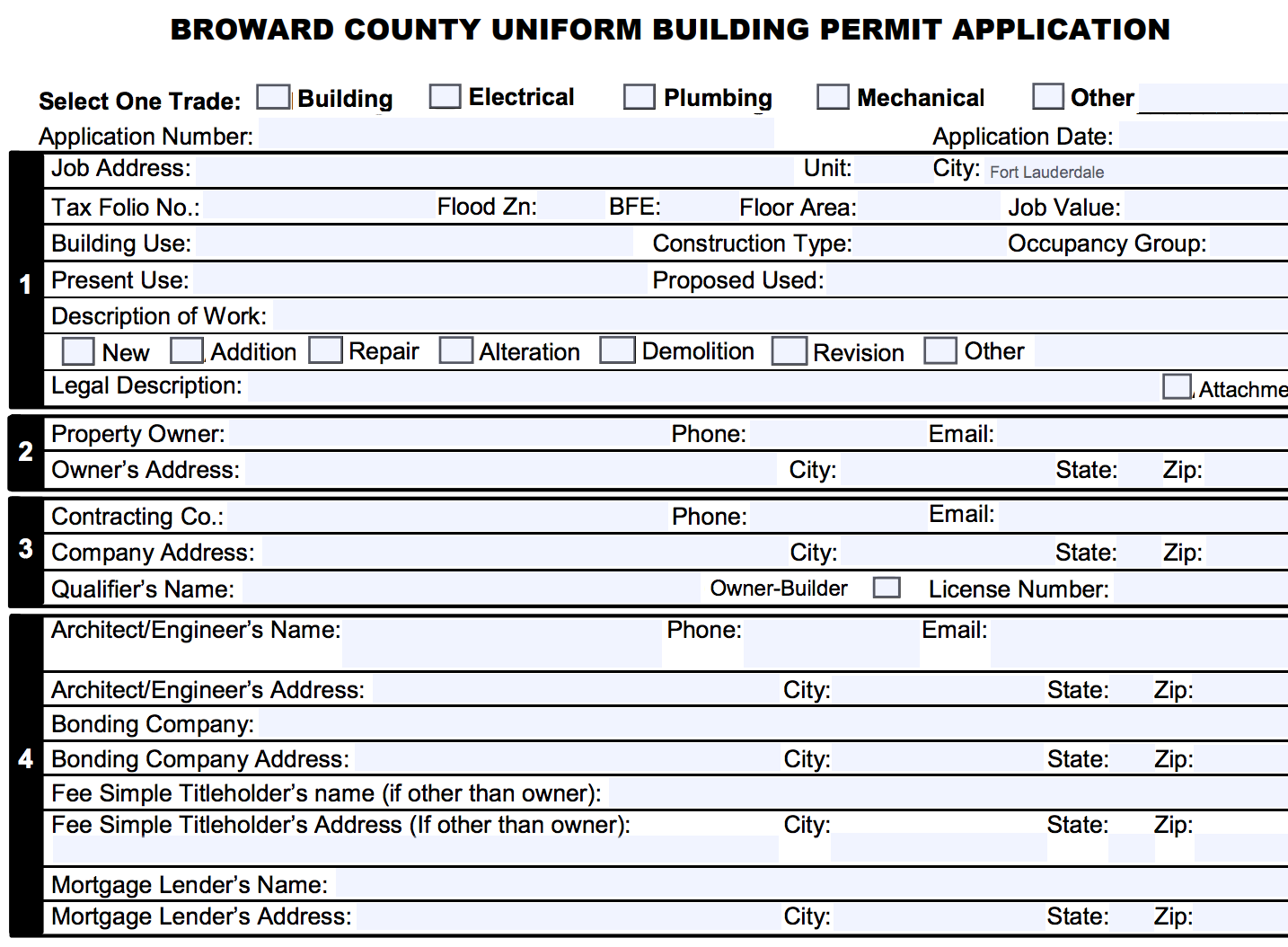 Home Office Addition Permits Broward County | Building Permit Tips Broward